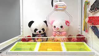 Got [Milky x Heart Panda BIG Plushy A]!!