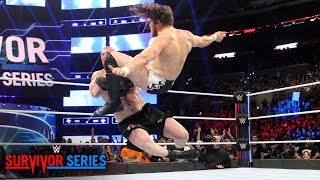 Daniel Bryan floors The Beast with a vicious Running Knee: Survivor Series 2018 (WWE Network)