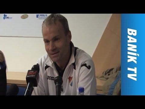 Tisková konference: FC Baník Ostrava -  FK Baumit Jablonec