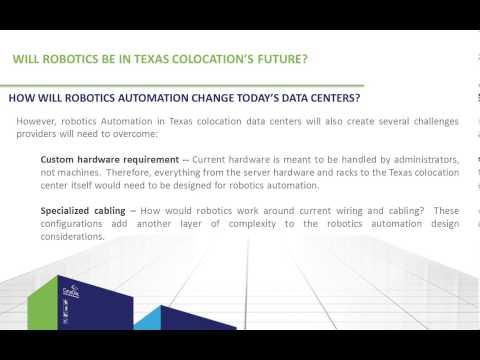 Will Robotics be in Texas Colocation's Future?