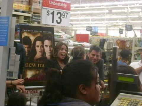 Nikki Reed And Chris Weitz New Moon DVD Walmart Party Release (Santa Clarita)