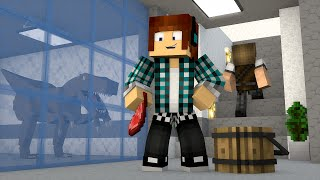 Minecraft : NOVO LABORATÓRIO DE DINOSSAUROS !! - ARK CRAFT SURVIVAL #33