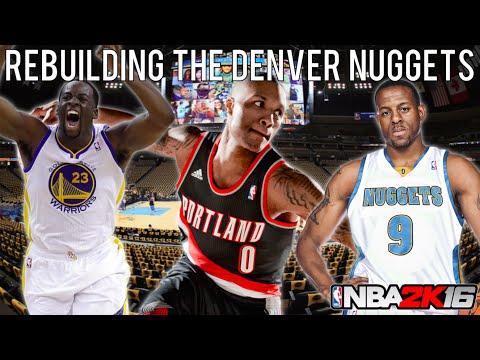 NBA 2K16 MyLEAGUE: Rebuilding the Denver Nuggets!