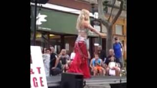 Belly dancing Hoochie Coochie