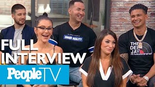 'The Jersey Shore' Cast Dish On Their Time Filming In Las Vegas, The VMAs & More (FULL) | PeopleTV