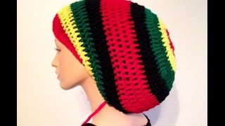 Crochet Dreadlocks Rasta Tams by Africancrab