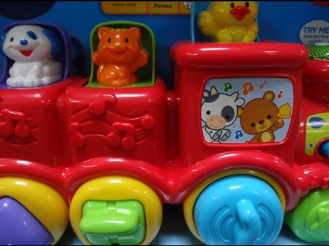 Baby Toys Vtech Pop and Surprise Animal Train Dance and Discover Jam Band Chomp and Count Dino