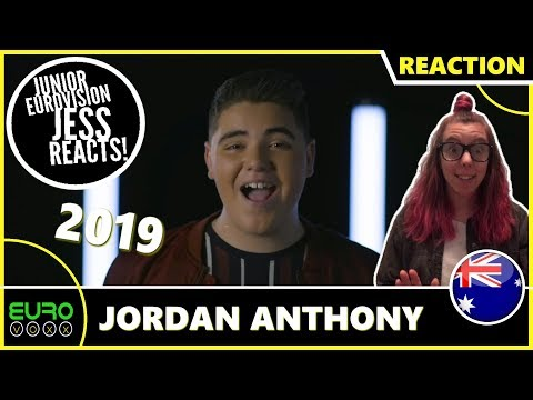 AUSTRALIA JUNIOR EUROVISION 2019 REACTION: Jordan Anthony - We Will Rise | JESS REACTS!
