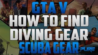 "Grand Theft Auto 5: ""GTA V Tips & Tricks"" How To Find Diving Gear (Scuba Gear Location)"