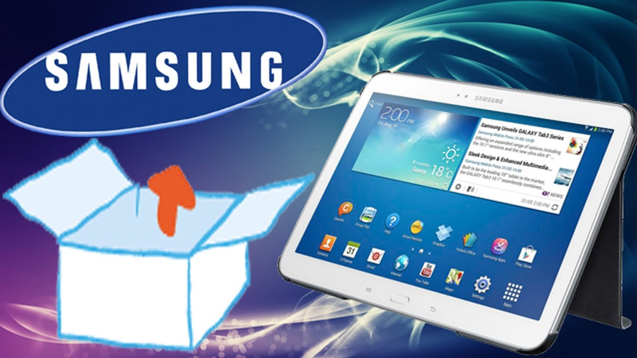 Unboxing samsung galaxy tab 4 10 1 10 1 wi fi sm t530 - Solde tablette 10 pouces ...