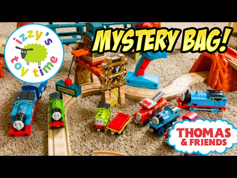 Thomas and Friends | Thomas Train and Trackmaster MYSTERY BAG | Fun Toy Trains for Kids with Brio