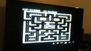 Ms. Pac-Man [Pretzel Start] (Commodore 64 HARDWARE) 1983  ATARI ATARISOFT