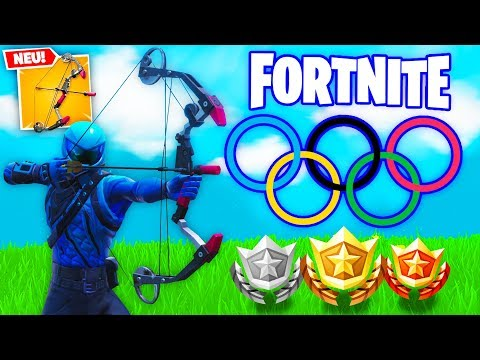 *NEU* OLYMPISCHE BOGEN SPIELE in Fortnite Battle Royale