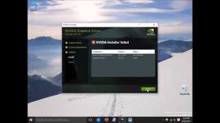 """How to fix """"nvidia installer cannot continue"""" and """"nvidia installer failed"""""""