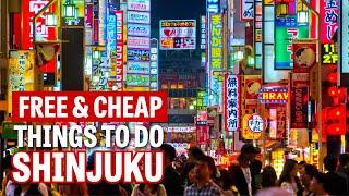 Free and Cheap Things to Do in Shinjuku