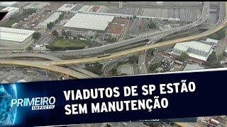 Viadutos sem manutenção causam riscos à população de SP | Primeiro Impacto (18/07/19)