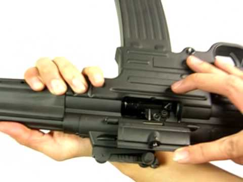 HitGuns.com - Airsoft Gun Review - AGM MP44 AGM-056 Pt.2 of 3