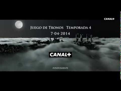 Canal+ - Autopromoción - Juego de Tronos (Temporada 4) (Aparición)