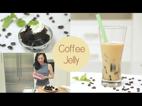 Coffee Jelly for Bubble Tea & Desserts | made with Starbucks VIA packets