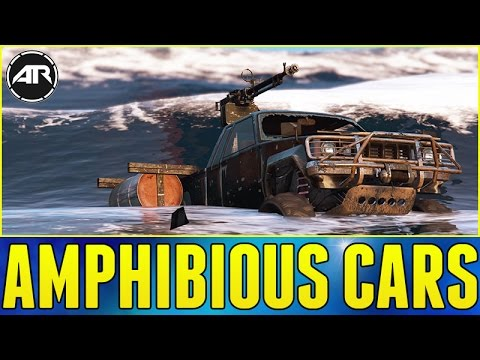 GTA 5 ONLINE : Top Gear Amphibious Cars!!! (Technical Aqua, Import/Export Gameplay)