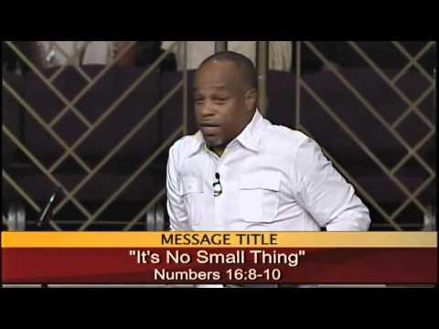 """It's No Small Thing"" Pastor John K. Jenkins Sr. (Awesome Sermon)"