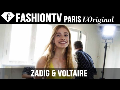 Zadig & Voltaire Hair & Makeup | Paris Fashion Week Spring/Summer 2015 | FashionTV