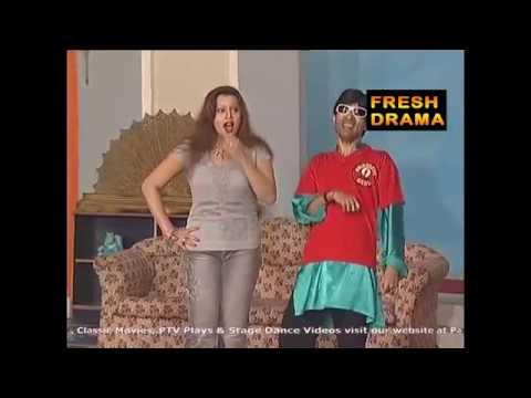Sajjan Abbas With Megha Sxy Hot PAkistani Stage Drama Latest Comedy Show Best