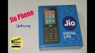 Jio 4G keypad phone unboxing
