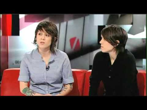 Tegan and Sara on the Hour (CBC) part 1/2