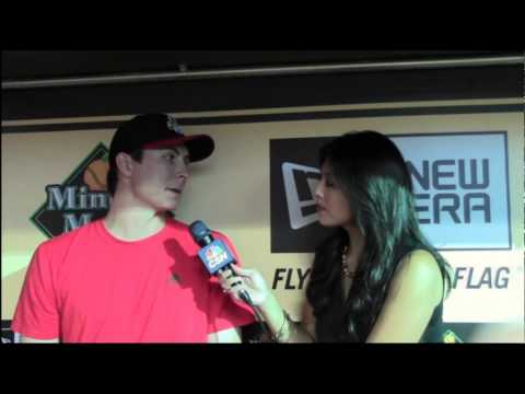 Catching up with Reds pitcher Homer Bailey