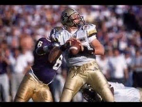 Drew Brees Purdue Rose Bowl 2001 Rose Bowl Purdue 8 3 vs