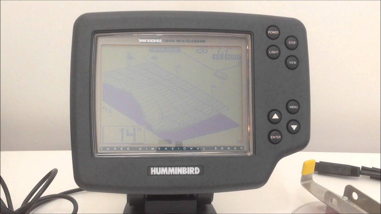 humminbird 748x 3d цена купить