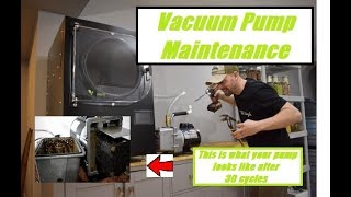HARVEST RIGHT-- 🔧Vacuum Pump Maintenance🔧 After 30 Cycles