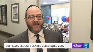 WGRZ-TV 2 (NBC) in Buffalo Covered Ellicott Center's Veterans Day Ceremony 11-12-18