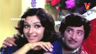 Gopi and Gita in love | Dongalaku Donga Movie | Krishna | Jaya Pradha | V9videos