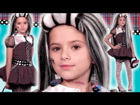 Frankie Stein Monster High Doll Costume Style Guide for Halloween