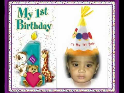 chote tera birthday aye . 1st Birthday to Rahmat Ali on 5-1-...