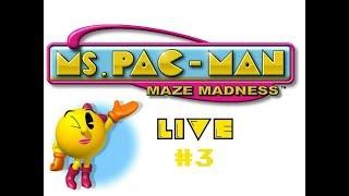 Ms. Pac-Man Maze Madness LIVE #3 (PS1)