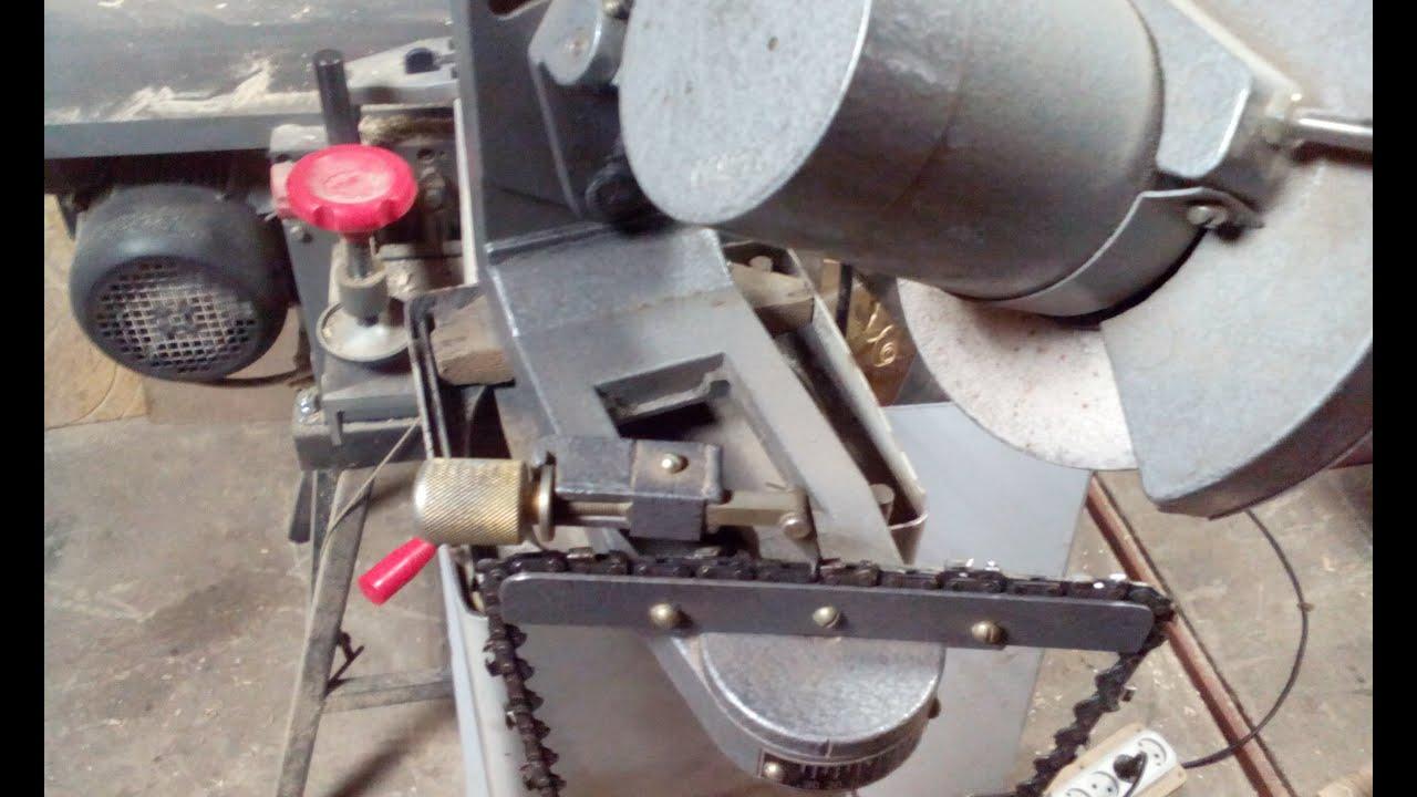 Станок для заточки цепей бензопил своими руками: из болгарки 44