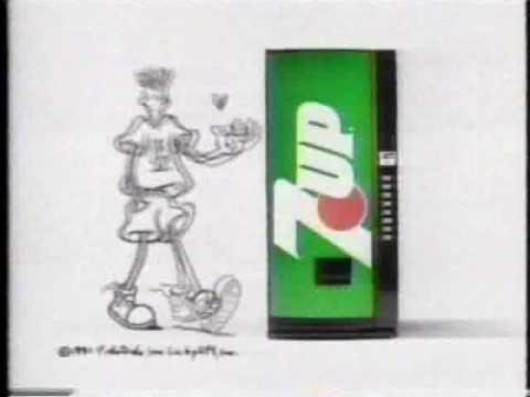 publicité de 7up avec fido dido.
