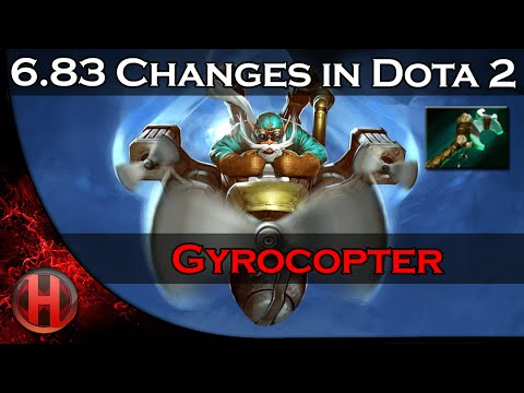 683 Changes Dota 2  Gyrocopter Homing Missle Force Staff Combo