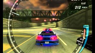 Need for Speed Underground 2. World record Acceleration 392 km/h