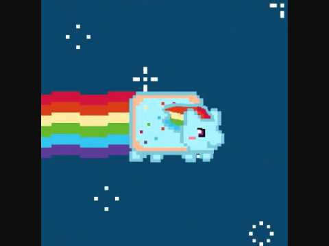 Nyan Cat And Rainbow Dash Rainbow Dash Nyan Cat