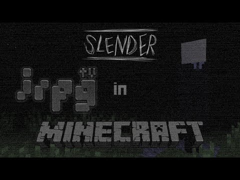[irpg Minecraft TV] — Slenderman [Adventure Map]