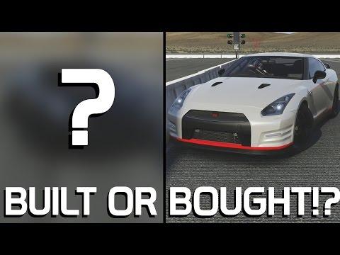 BUILT OR BOUGHT!?    2012 Nissan GTR VS ???    Forza 6