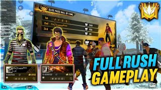 GLOBAL FULL RUSH GAMEPLAY WITH JIGS VAI ||KILLING HIGHLIGHTS || FREE FIRE BATTLEGROUND