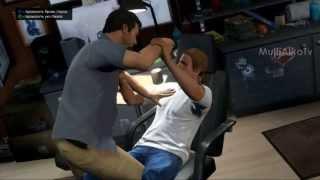 GTA 5 Майкл делает пирсинг и татуировку