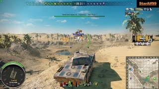 Wot Xbox One/PS4 AMX CDC Premium Tank 2.9k DMG !!!