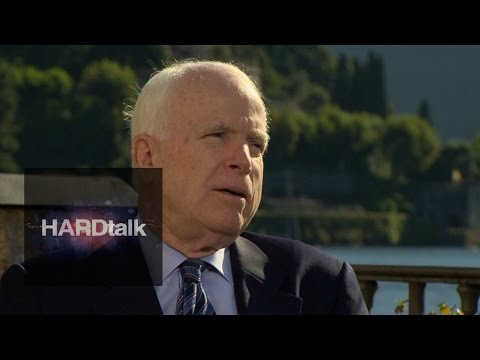 Putin is 'rebuilding Russian empire' says Senator McCain - BBC HARDtalk