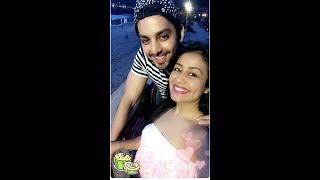 Neha Kakkar &  Himansh Kohli   Now Together   They Are Having Fun in Goa
